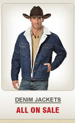 All Mens Denim Jackets on Sale