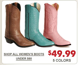 Womens 49 99 Boots