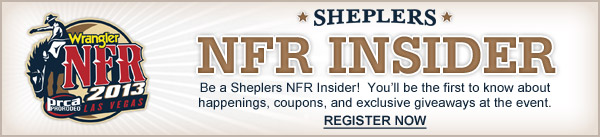 Register to be a Sheplers NFR Insider