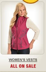All Womens Vests on Sale