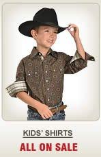 Kids Shirts on Sale