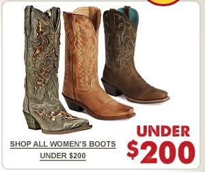All Womens Boots Under 200 on Sale