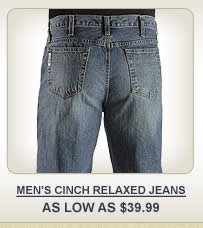 All Mens Cinch Relaxed Fit Jeans on Sale