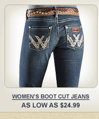 All Womens Boot Cut Jeans on Sale