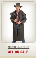 All Mens Dusters on Sale
