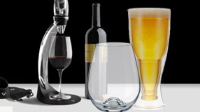 Bar and Drinkware for all Your Entertaining Needs