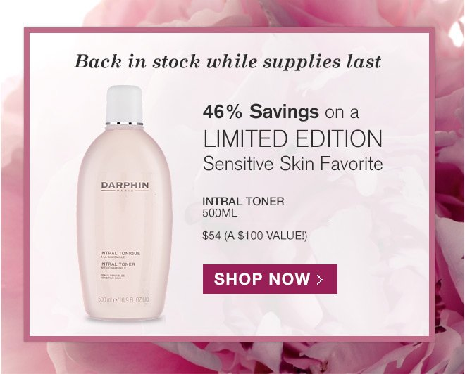 Save 46% on a Limited Edition Sensitive Skin Favorite