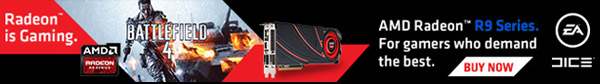 AMD Radeon R9 Series. For Games Who Demand The Best.