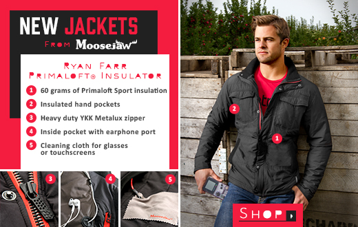 New Jackets From Moosejaw - the Ryan Farr