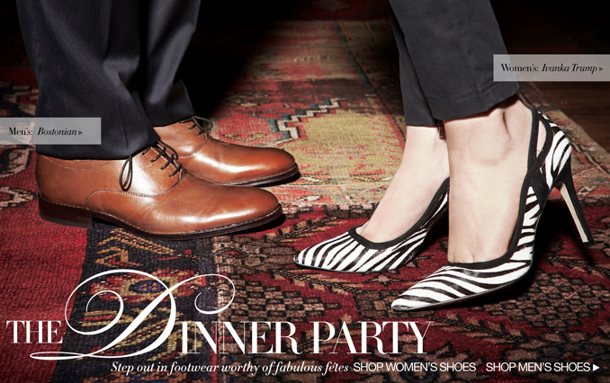 Shop Shoes for Dinner Party