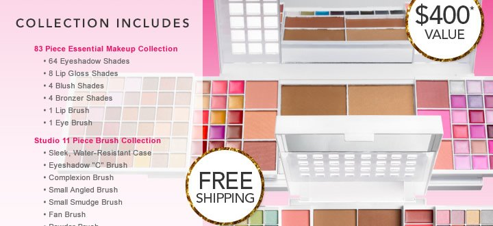 Collection Includes Free Shipping