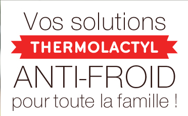 Vos solutions Thermolactyl anti-froid