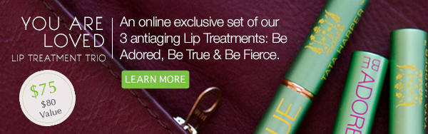 You are Loved: Lip Treatment Trio