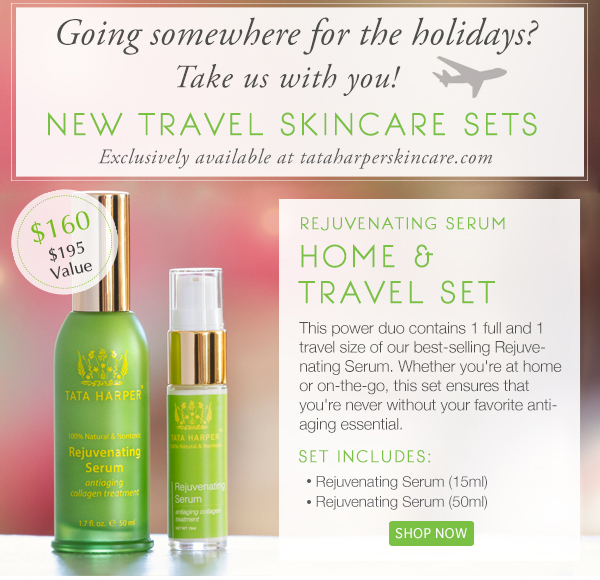 Rejuvenating Serum Home & Travel Set