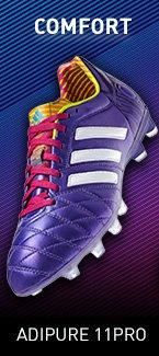 Comfort. Shop adipure 11 Pro Soccer Cleats »