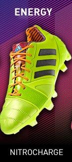 Energy. Shop Nitrocharge Soccer Cleats »