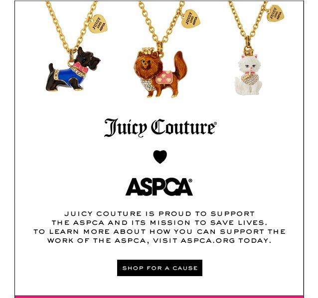 ASPCA.  SHOP FOR A CAUSE.