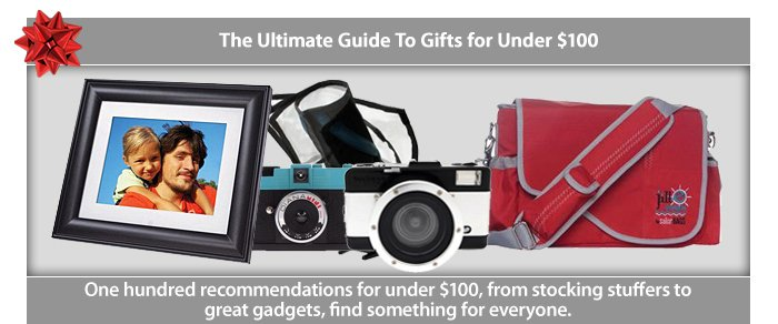 Adorama - Guide to Gifts Under $100