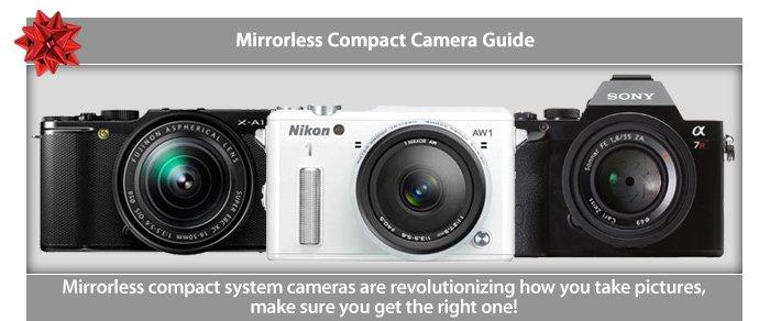 Adorama - Mirrorless Camera Buying Guide