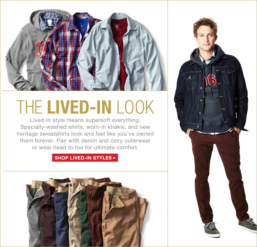 THE LIVED-IN LOOK | SHOP LIVED-IN STYLES
