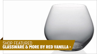 Shop Featured Glassware & More by Red Vanilla