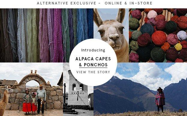 Alpaca Capes and Ponchos