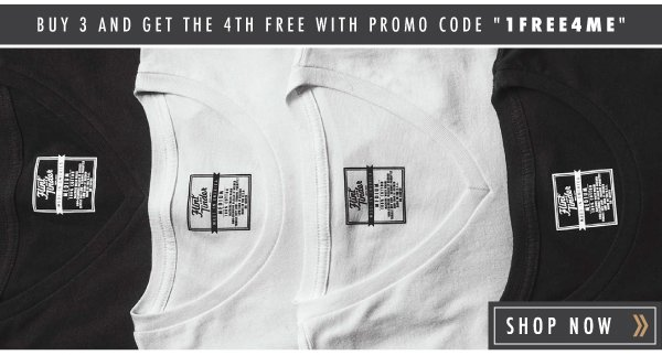 Black, white, and perfectly fitted to hide beneath a collared shirt or keeping you covered on their own. BUY 3 GET 1 FREE! Use Promo Code: 1FREE4ME