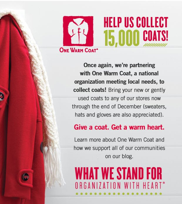HELP US COLLECT 15,000 COATS!