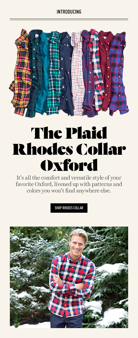 Shop new patterned oxfords