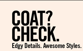 COAT? CHECK.