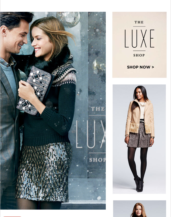 THE LUXE SHOP | SHOP NOW