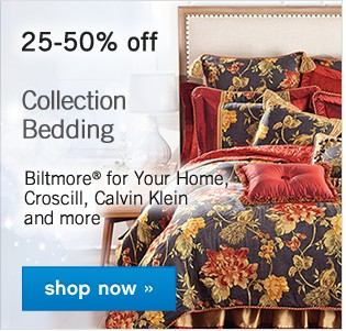 Up to 30% off Quilts and Comfort. Shop now.