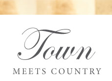 Town Meets Country