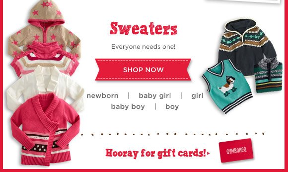 Sweaters. Everyone needs one! Shop Now