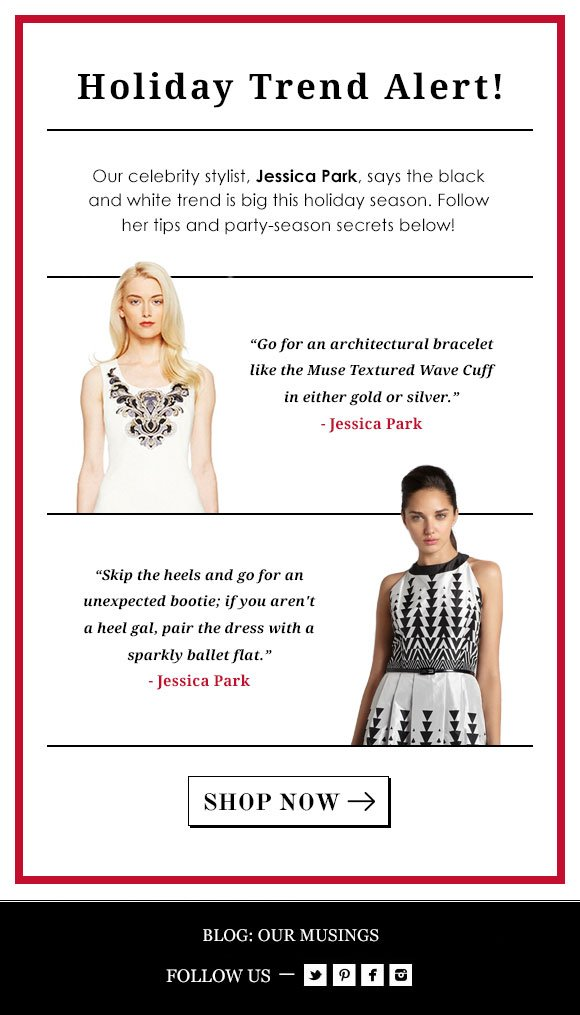 Holiday Trend Alert