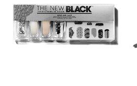 The New Black Mesh & Lace Nail Set
