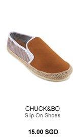 Chuck & Bo Slip on Shoes
