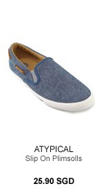 Atypical Slip on Plimsolls
