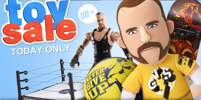 WWE Toy Sale