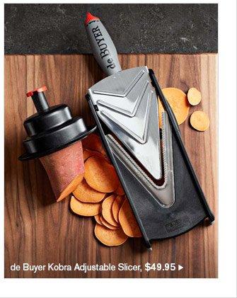 de Buyer Kobra Adjustable Slicer, $49.95