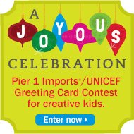 Pier 1 Imports/UNICEF Greeting Card Contest