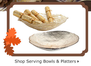 Shop Serving Bowls & Platters