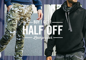Shop Chill Out & Save: Loungewear