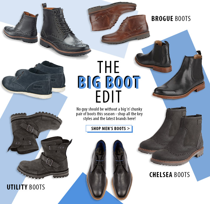 The BIG BOOT Edit - shop all key styles