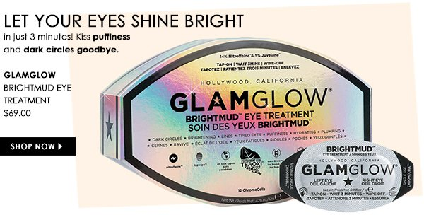 Brightmud Eye Treatment by Glamglow, $69