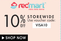 Redmart 10% off storewide