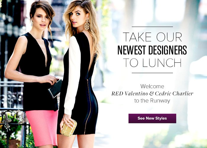 Valentino and Charlier - See New Styles