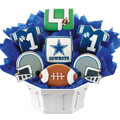 Football Bouquet - Dallas