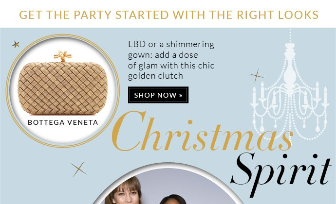 GET THE PARTY STARTED WITH THE RIGHT LOOKS