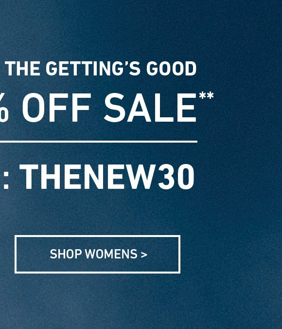 Shop Women's Extra 30% Off Sale. Enter Code: THENEW30